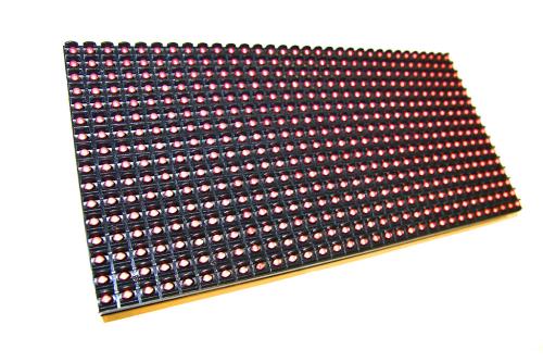 Светодиодный модуль P10 DIP красный 3500