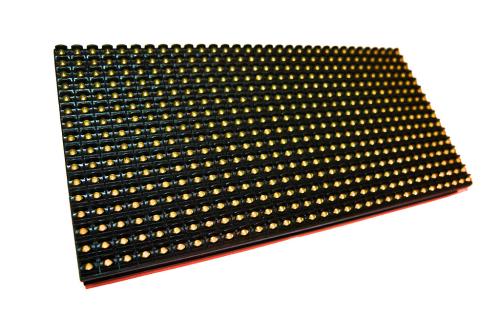 Светодиодный модуль P10 DIP желтый яр.5000 (320*160)