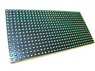 Светодиодный модуль P10 DIP зеленый яр.5000 (320*160)