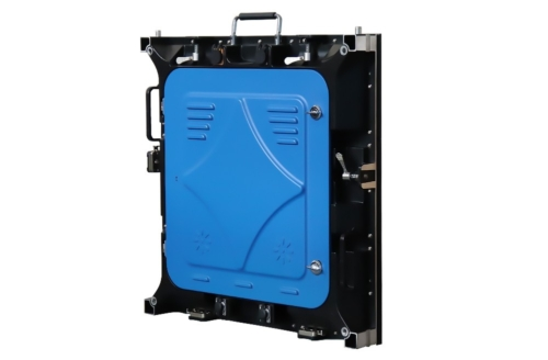 Боковая сторона кабинета led экрана для помещений P5 640*640 мм